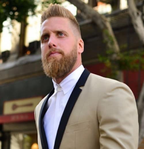 BLONDE-RED-BEARD3-e1448051465676 Blonde Beard: How to Grow, Trim and Maintain Blonde Beard