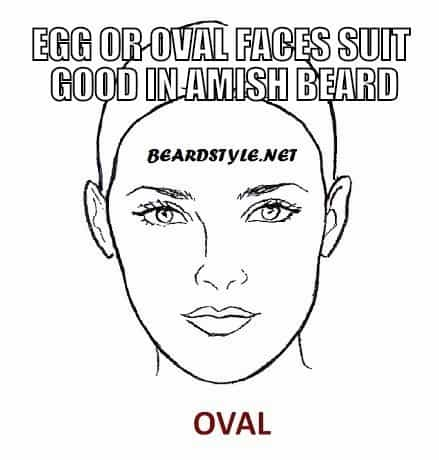 OVAL-FACE-SHAPE33 Amish Beard: How to Grow, Trim and Maintain Amish Beards