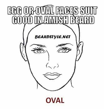 OVAL-FACE-SHAPE33 Amish Beard: How to Grow, Trim and Maintain Amish Beards