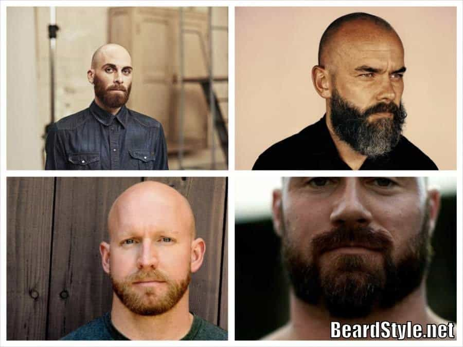 Bald Men With Beards Grow Facial Hair With Bald Head - Facial hair styles bald guys