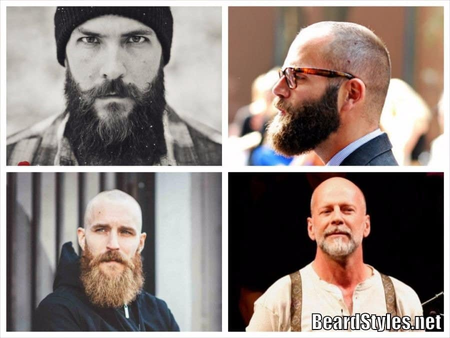 bald-men-with-beards3 Bald Men With Beards: Grow Facial Hair With Bald Head