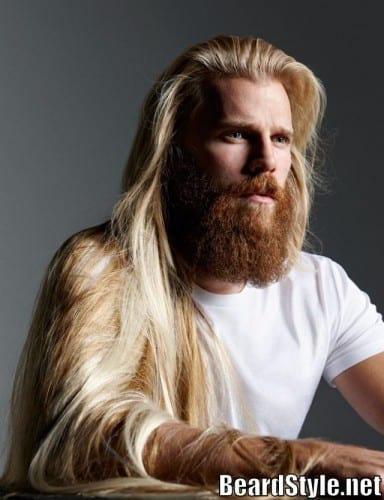 blonde-beard-style2-e1448051490310 Blonde Beard: How to Grow, Trim and Maintain Blonde Beard
