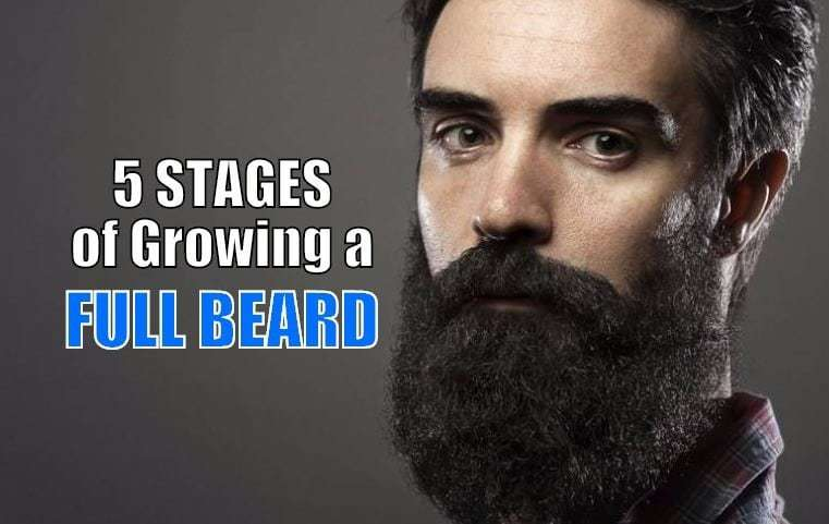 5 Stages of Beard Growth Cycle