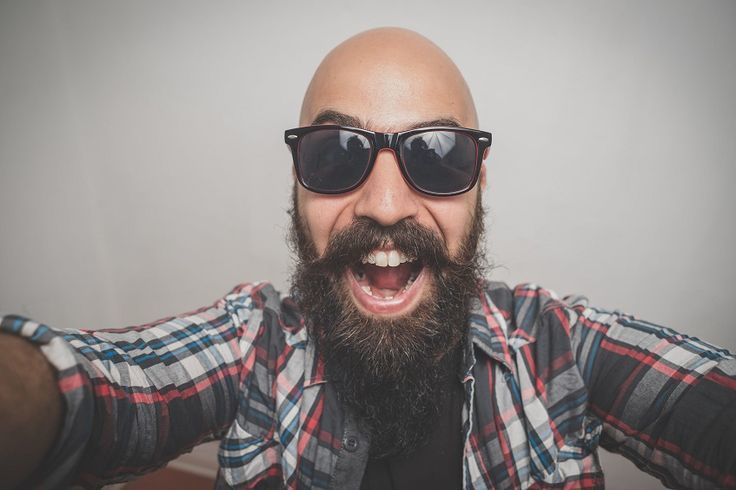 bald-beard 25 Classy Beard Styles Dedicated to Bald Men