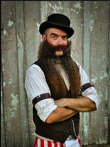 Nate-Johnson 10 Longest Beards In The World [2020]
