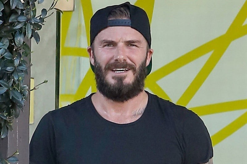 beckham-full-beard 8 Hottest David Beckham Beards to Get Attraction