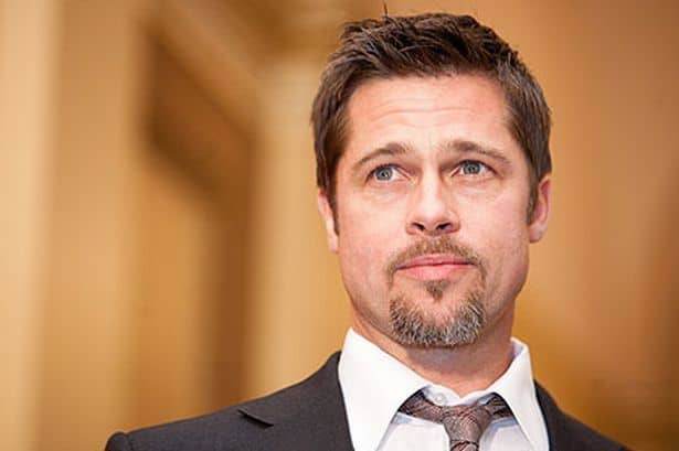 brad-pitt-goatee 160 Coolest Beard Styles to Grab Instant Attention