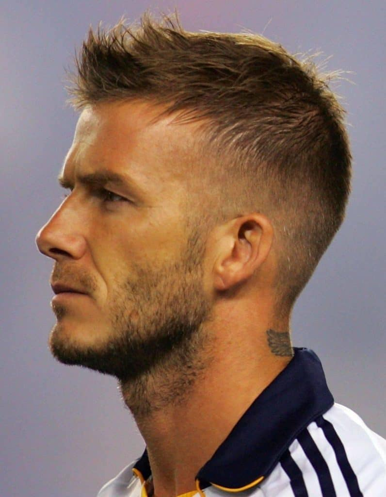 Admirable 8 Hottest David Beckham Beards To Get Attraction Beardstyle Short Hairstyles For Black Women Fulllsitofus