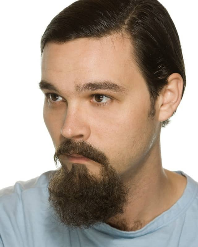 small-goatee 160 Coolest Beard Styles to Grab Instant Attention