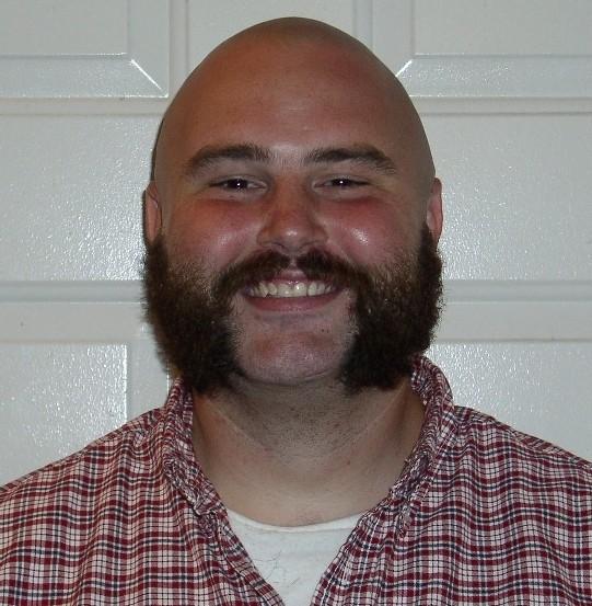 thin Mustache beard