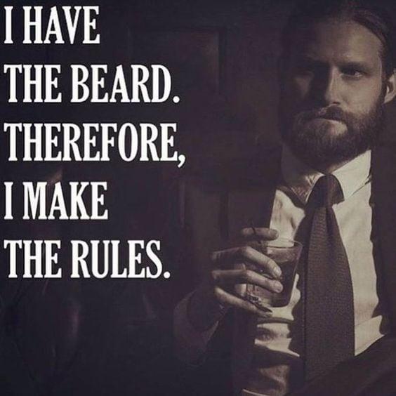funyn beard meme