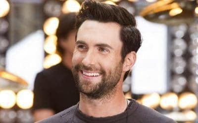 Dam Levine beard styles