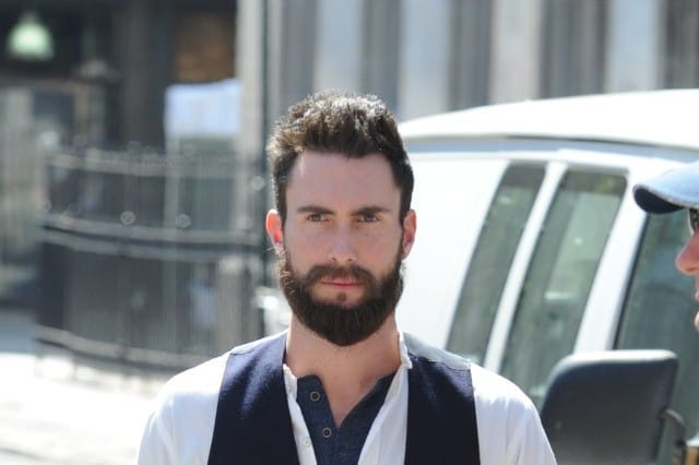 Adam-Levine-4 5 Most Attractive Dam Levine Beards