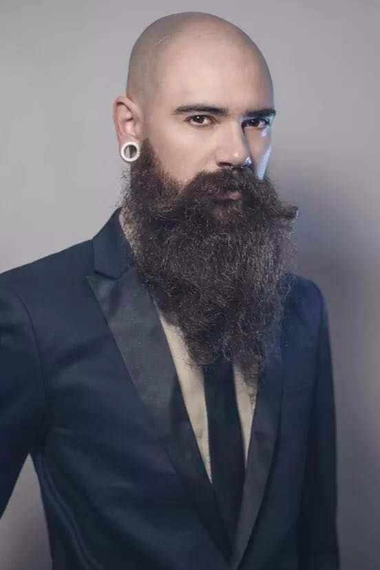 Bald-Men-5 25 Classy Beard Styles Dedicated to Bald Men