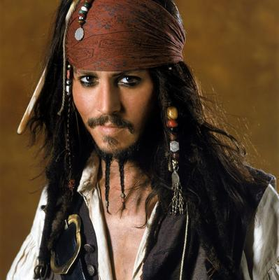 Captain-jack-sparrow 160 Coolest Beard Styles to Grab Instant Attention