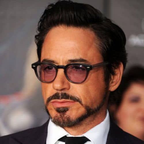 The Tony Stark Goatee ...