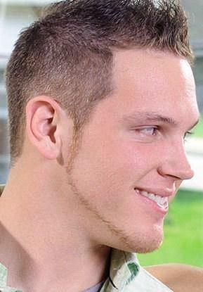 Chinstrap-Beard11 100 Trendy Chin Strap Beard Styles to Copy