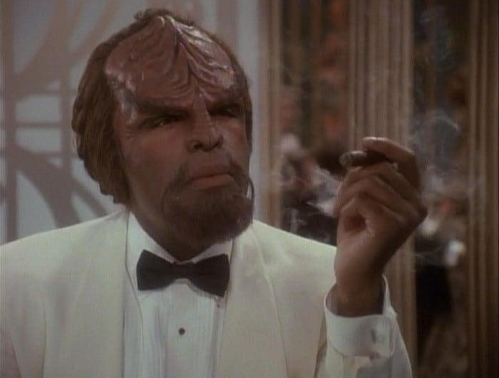 Klingon beard