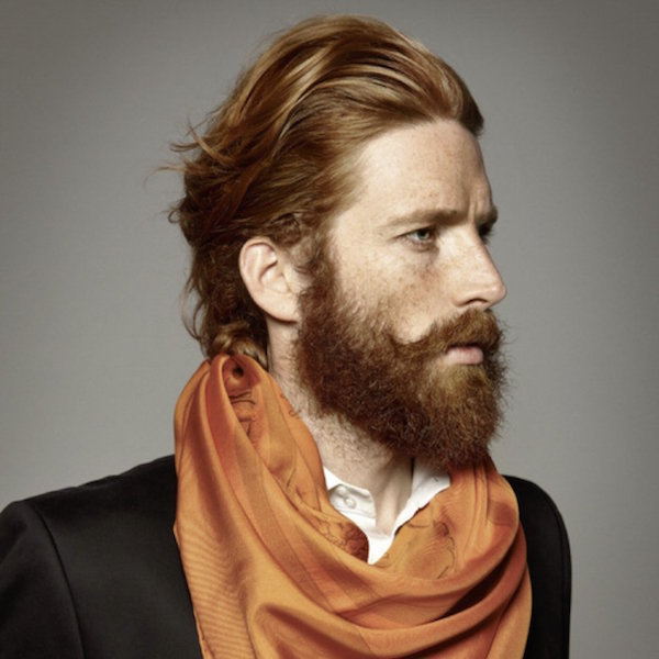 Red-Beard 160 Coolest Beard Styles to Grab Instant Attention [2019]