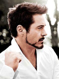 Photo Of Robert Downey Jr Goatee In Iron Man