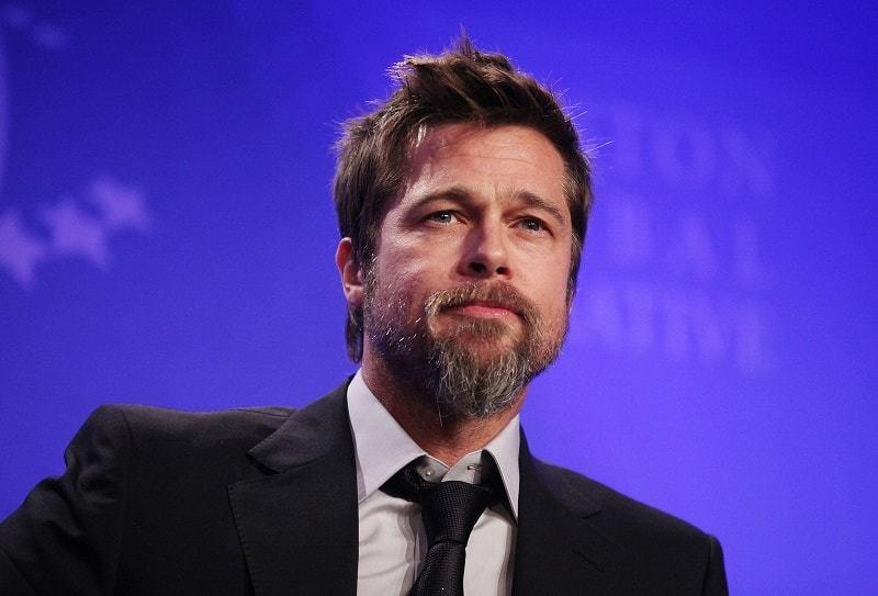 Image result for brad pitt with beard