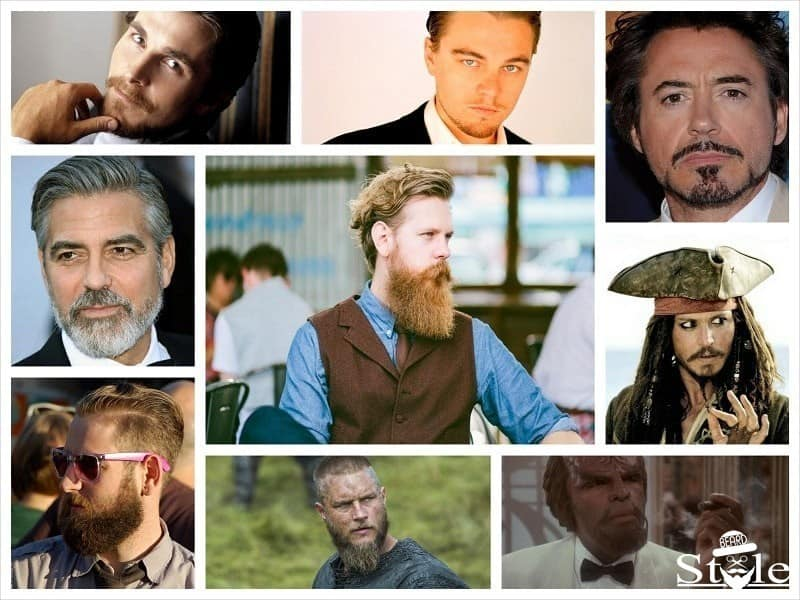 different types of beard styles