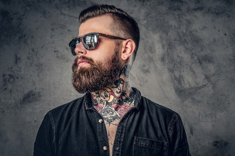 full-thick-beard 160 Coolest Beard Styles to Grab Instant Attention