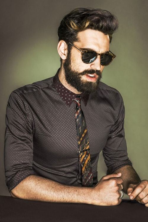 hipster-beard-42-min 160 Coolest Beard Styles to Grab Instant Attention
