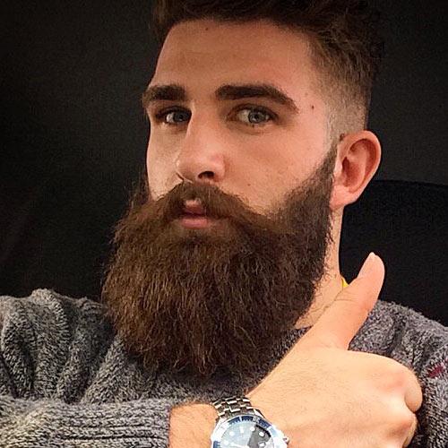 Remarkable 20 Refreshing Long Beard Trends Of 2017 Beardstyle Short Hairstyles Gunalazisus