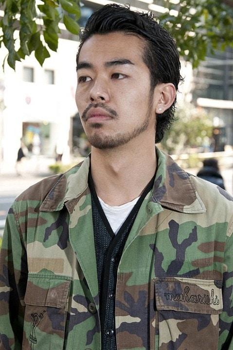 short Goatee beard for asian boy