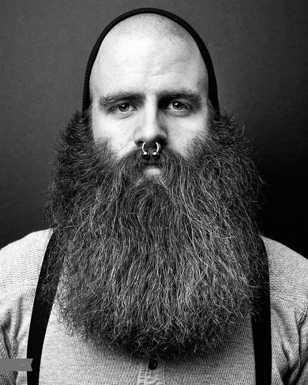 Pleasing 20 Refreshing Long Beard Trends Of 2017 Beardstyle Short Hairstyles For Black Women Fulllsitofus