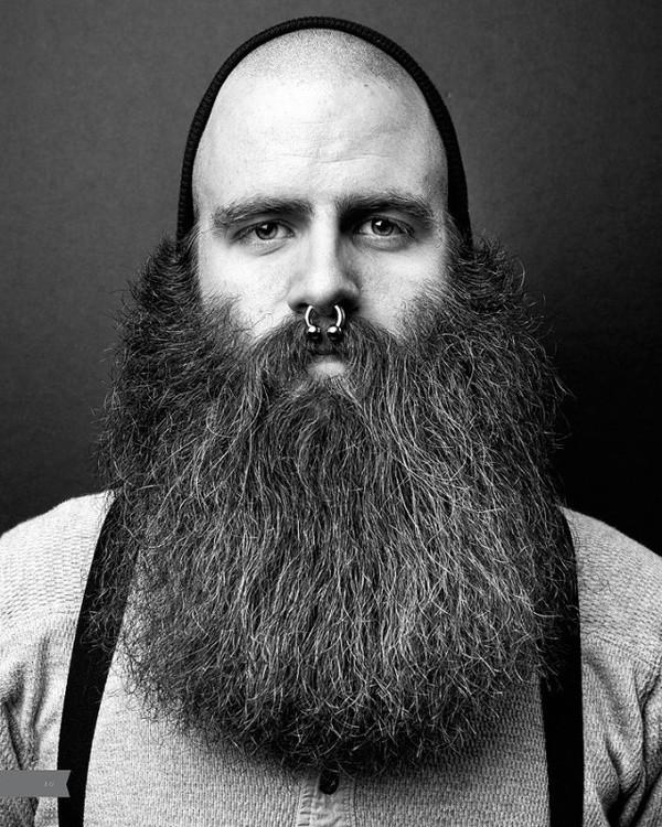 Miraculous 20 Refreshing Long Beard Trends Of 2017 Beardstyle Short Hairstyles Gunalazisus