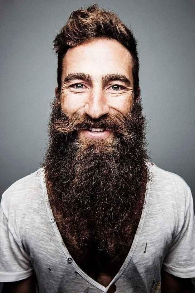 Terrific 20 Refreshing Long Beard Trends Of 2017 Beardstyle Short Hairstyles Gunalazisus