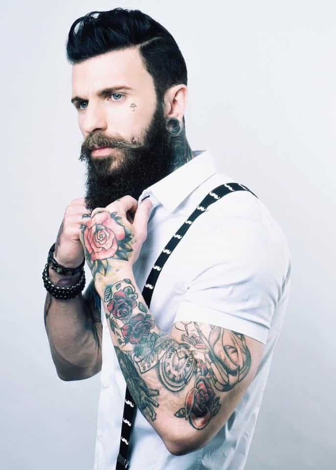 60 hottest hipster beard styles ever beardstyle. Black Bedroom Furniture Sets. Home Design Ideas