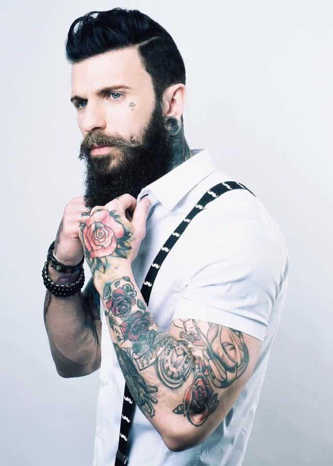 Prime 70 Hottest Hipster Beard Styles Ever Beardstyle Short Hairstyles For Black Women Fulllsitofus