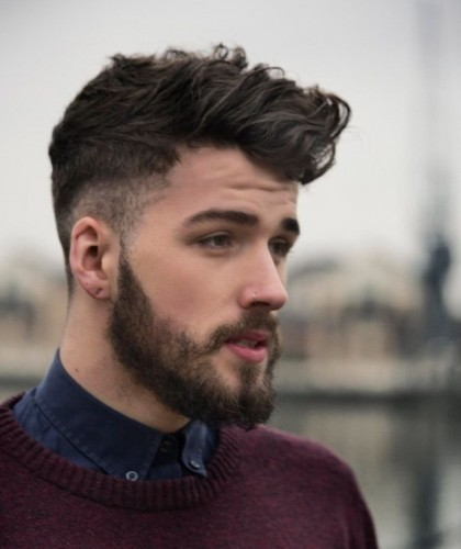 Surprising 45 Elegant Short Beard Styles For Men 2017 Beardstyle Hairstyle Inspiration Daily Dogsangcom