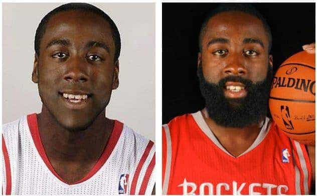 james-harden-no-beard-photos 5 Amazing James Harden Photos Without Long Beard