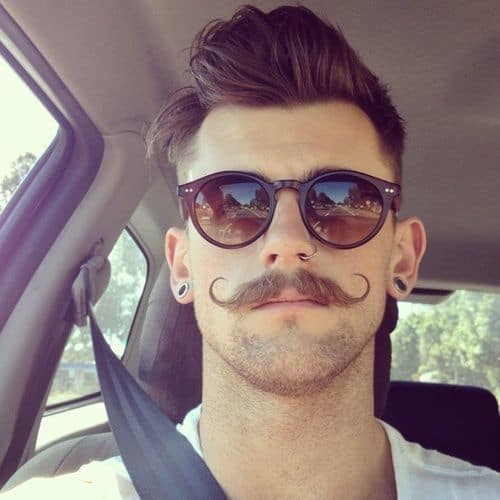 mustache-style-15 48 Coolest Mustache Styles for Guys to Wear with Pride