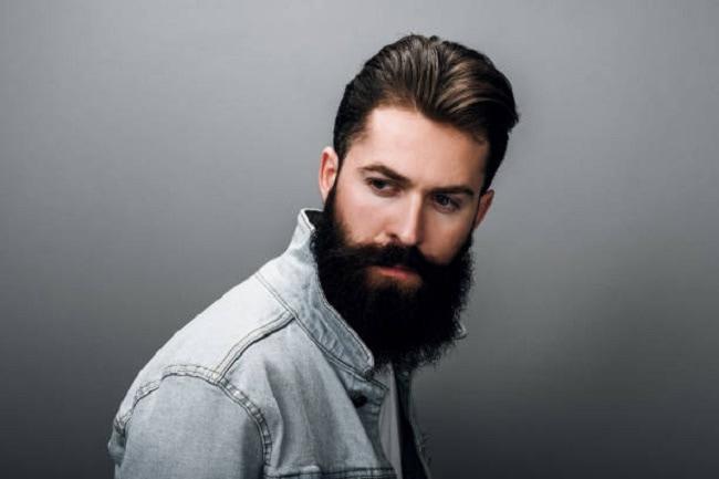 masculine bearded man