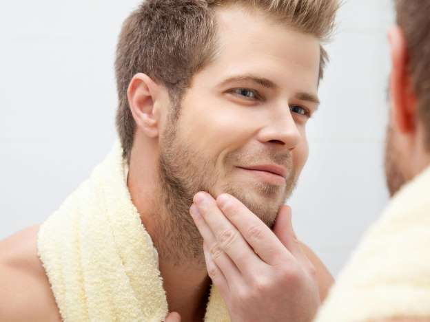 beard keeps skin healthy