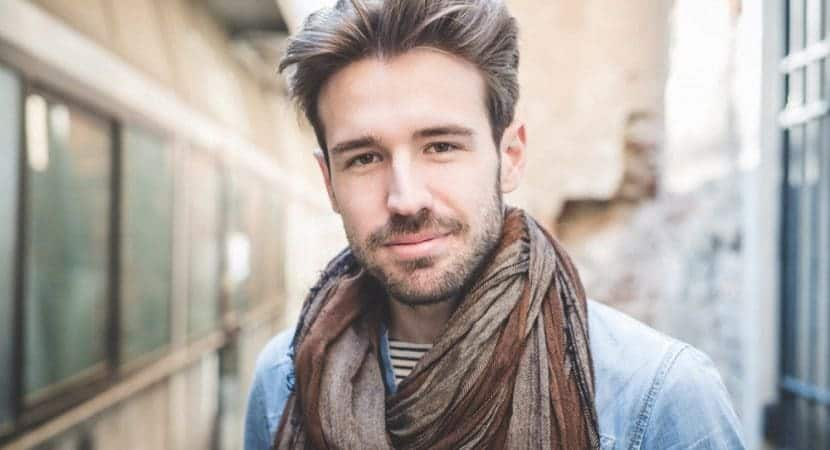 statement hairstyle for men