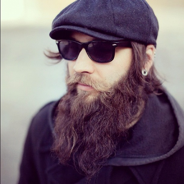 tumblr_m9kq4644gD1repq97o1_1280 160 Coolest Beard Styles to Grab Instant Attention