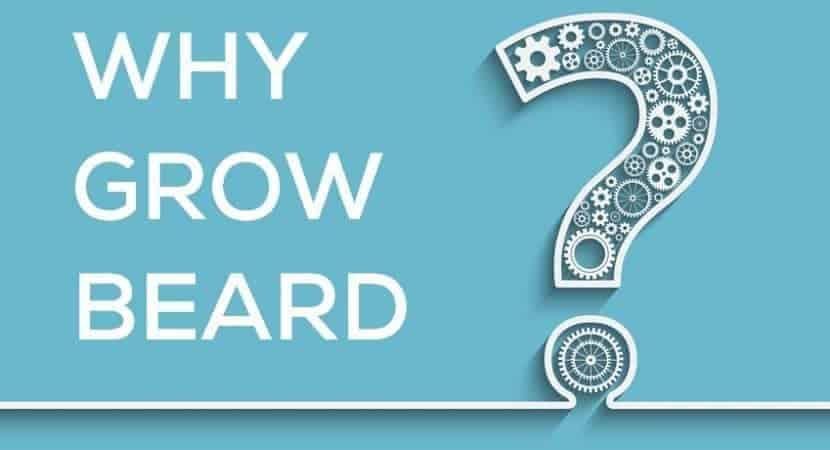 why men should grow facial hair
