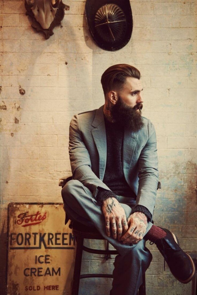 1 70 Hottest Hipster Beard Styles Ever [2021]