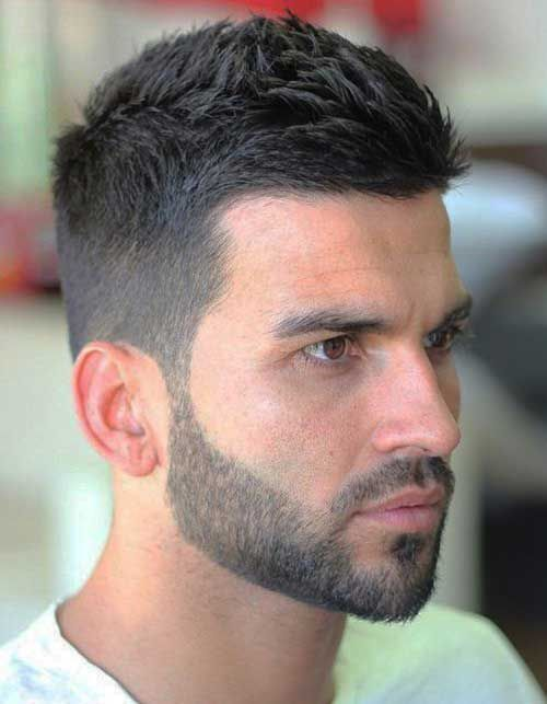 Awesome 45 Elegant Short Beard Styles For Men 2017 Beardstyle Short Hairstyles For Black Women Fulllsitofus