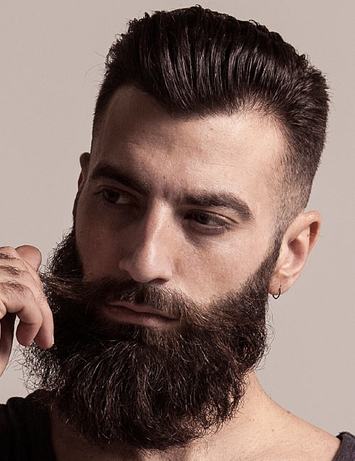 Excellent 20 Coolest Beard Shapes For Any Occasion Beardstyle Short Hairstyles Gunalazisus