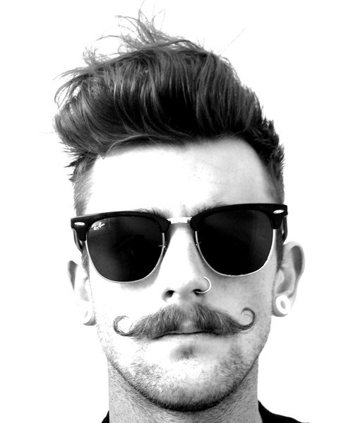 1 70 Hottest Mustache Styles for Guys Right Now [2020]