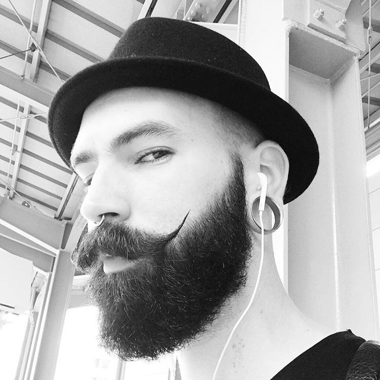 13473192_1780034142239315_1868336363_n How to Grow A Classy Handlebar Mustache - Masculine Look