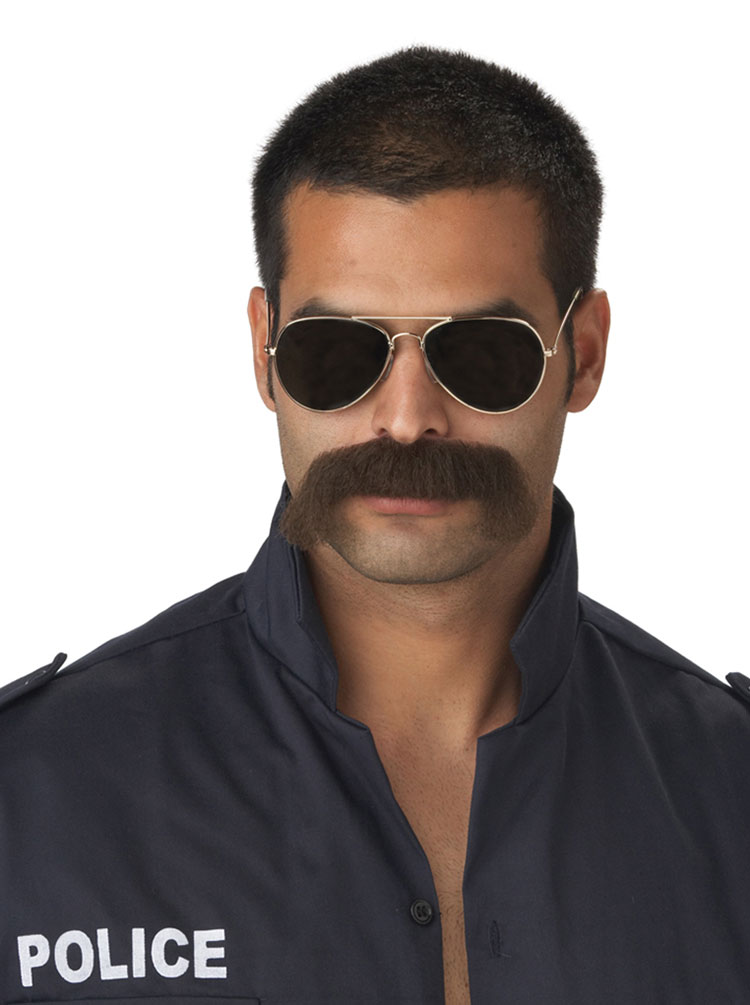 70486-Dark-Brown-The-Man-Moustache-large 5 Trendiest Mexican Mustaches for 2020