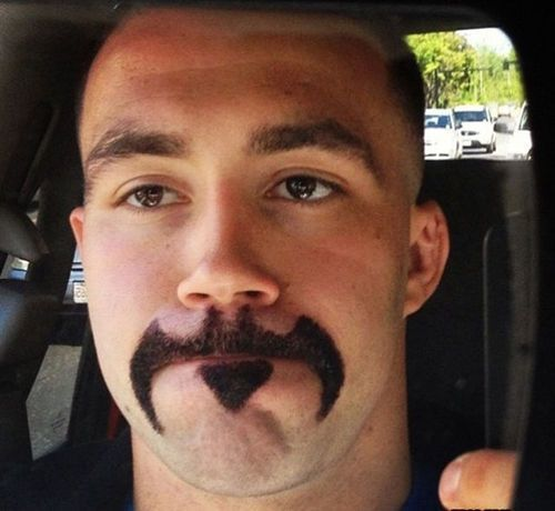 Weird Moustache Photos 9